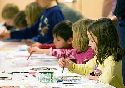 kids-making-art