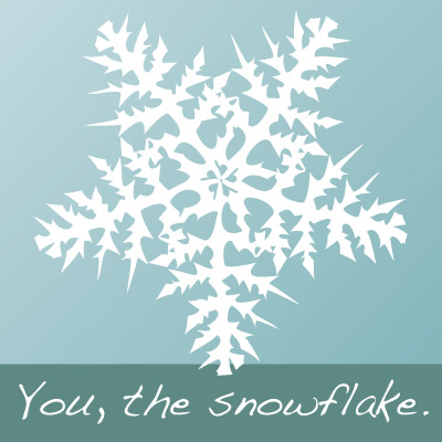 you-the-snowflake